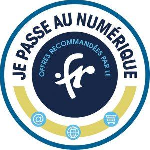 Logo Afnic Label numérique