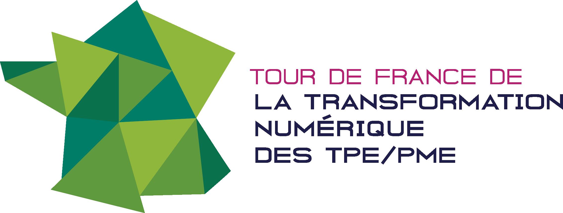 Logo Tour de France de la transformation numérique des TPE/PME