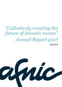Afnic activity report 2017