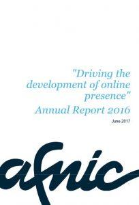 Afnic annual report 2016