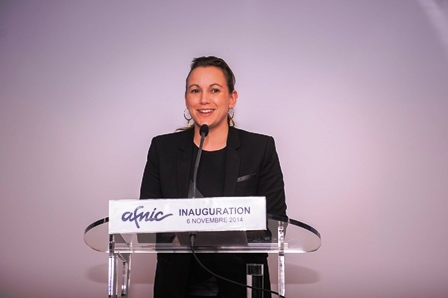 Axelle Lemaire inaugure l'Afnic