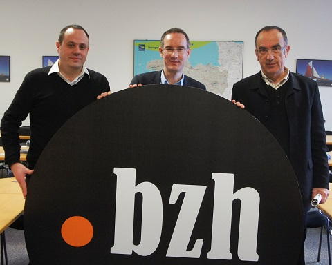 Opening of .bzh on Dec, 4th 2014
