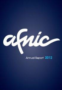2012 Afnic activity report