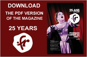 Downnload the PDF version of the magazine 25 years