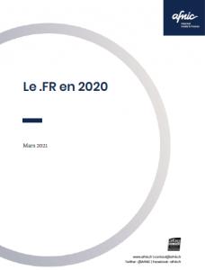 Le .fr en 2020 couverture