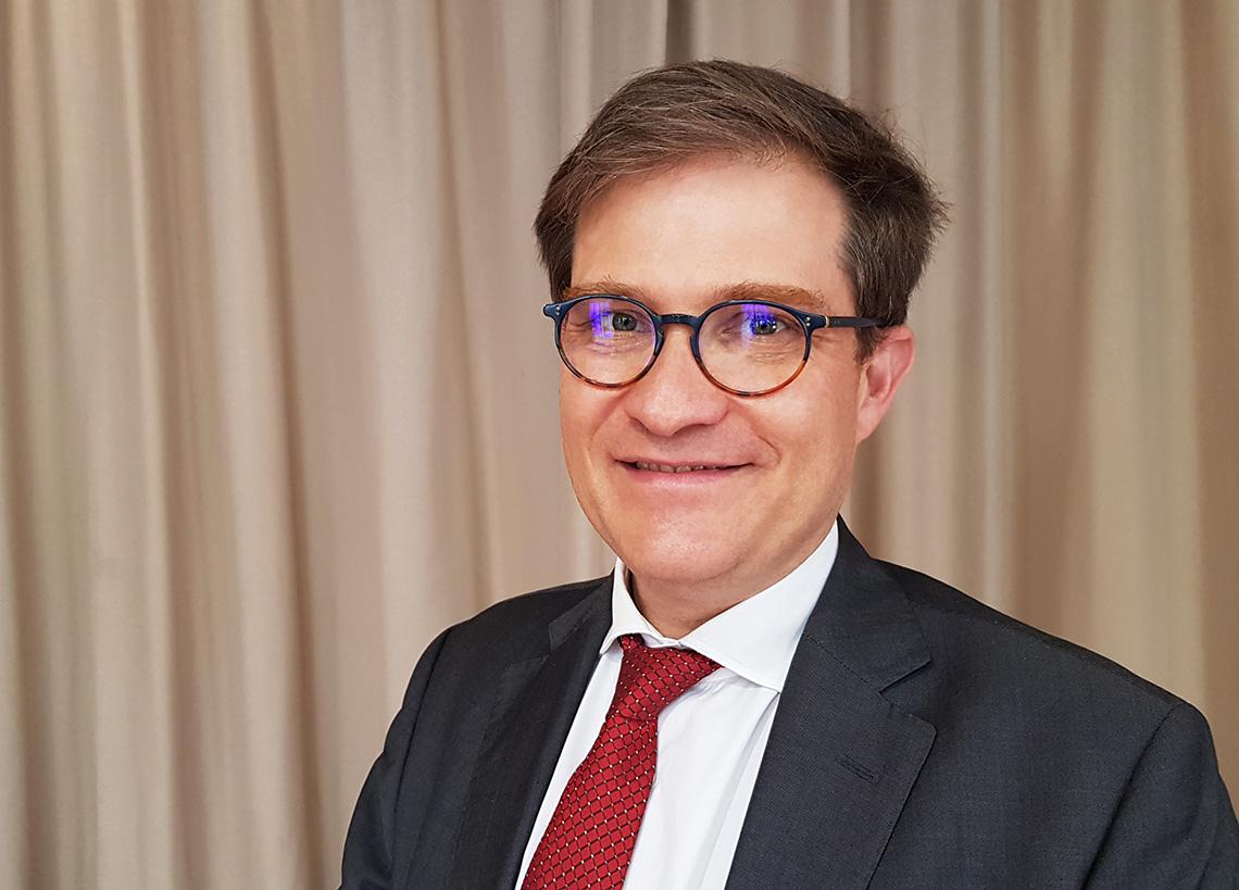 Godefroy Beauvallet, Président de l'Afnic