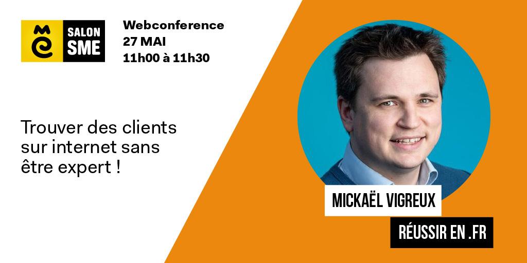 Mickael Vigreux Salon SME online