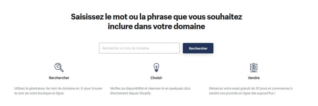 Shopify moteur