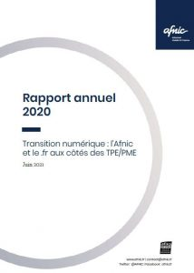 Rapport Annuel Afnic 2020