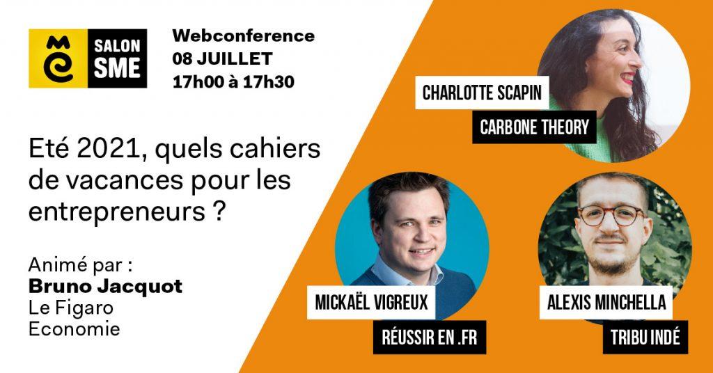 Mickael Vigreux Salon SME conférence