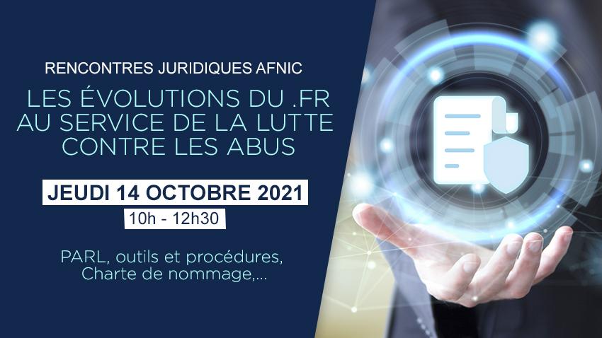 Rencontres Juridiques Afnic 2021